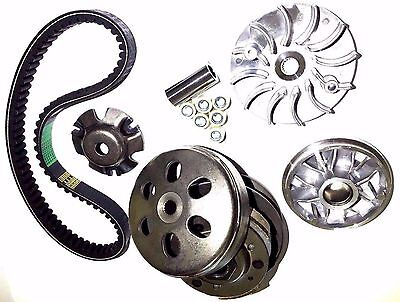 TRANSMISSION REBUILD KIT CARTER TALON 150 GO KART CLUTCH PULLEY With BELT