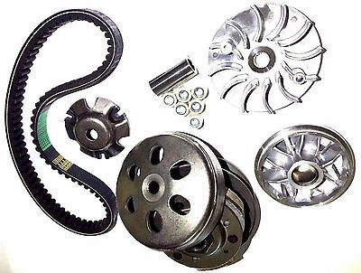 Transmission Rebuild Kit Yerf Dog 150 Gx150 Go Kart Variator Pulley Clutch Belt