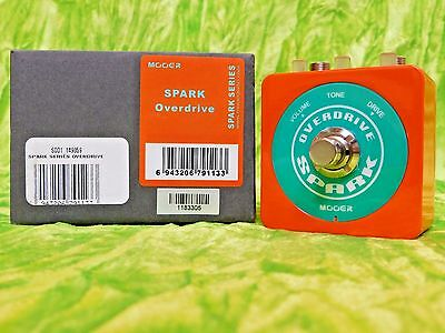 Mooer Spark Series Overdrive / Distortion NEW in Box Lowest Price Anywhere!
