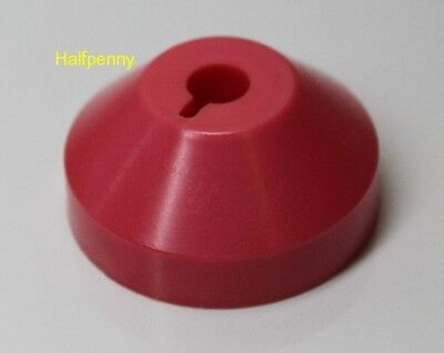 """Brand New """"FunkyPink"""" 45rpm Turntable Adapter"""