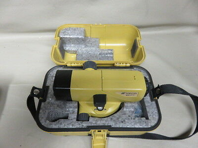 Topcon at-b4 automatic 24x autolevel surveying level look