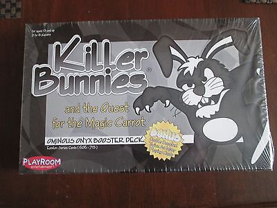 Killer Bunnies and the Quest for the Magic Carrot - Ominous Onyx Deck, BRAND NEW