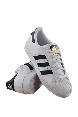 C77154 Kids Grade School Superstar Junior Adidas White/black/gold