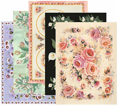 MIXED DECOUPAGE PAPER, Bulk Buy pk30, Quality100gsm
