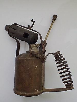 Vintage Radius 52 Brass Blow Torch Rare Good Condition  Cheap Post