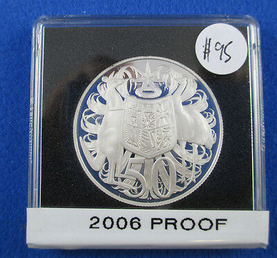 2006 Silver Proof 50 cents immaculate in Quadrum