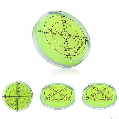 Mini Round Bullseye Spirit Level Bubble Degree 10*6mm/12*6mm/60*12mm/66*10mm