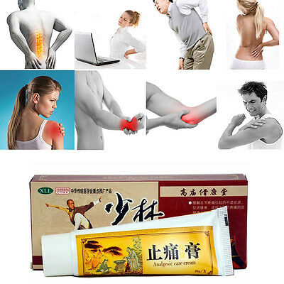 1x Chinese Shaolin Analgesic Cream Arthritis Joint pain Back Neck Pain Relief Ne