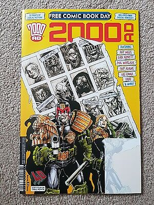 Free Comic Book Day 2017 2000AD Magazine