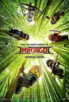 THE LEGO NINJAGO MOVIE MOVIE POSTER DS 27x40 2nd Advance Style