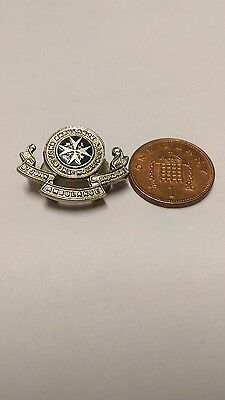 st johns ambulance brigade lapel badge