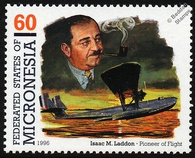 Isaac Laddon / CONSOLIDATED P2Y-2 RANGER Flying Boat Seaplane Aircraft Stamp