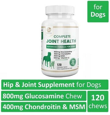 Petastical Glucosamine for Dogs Hip and Joint Supplement with Chondroitin & MSM