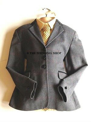 Childs Tagg Blue Tweed Showing Jacket Size 26