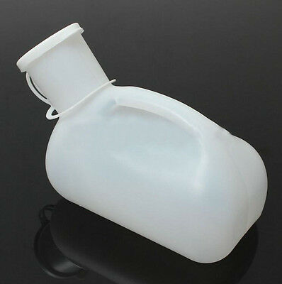 Travel Camping Urine Mens 1000ML Portable Car Urinal Bottle Toilet Male ​1 Pcs