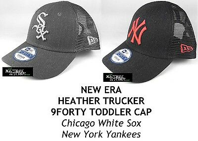 New Era Heather Trucker 9Forty Adjustable Toddlers Cap - Yankees/white Sox