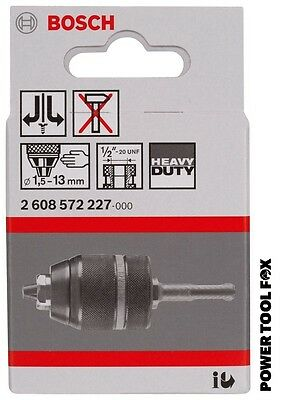 SaversChoice Bosch SDS+Keyless Chuck Adaptor 1.5-13mm 2608572227 3165140370073#X