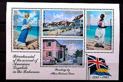 Bahamas 1982-83 Commonwealth Confer Xmas Bicentennial 1783 Church 20 stamps MNH
