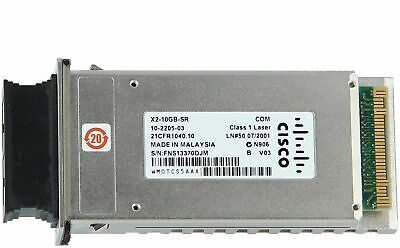 CISCO - X2-10GB-SR= - 10GBASE-SR X2 Module