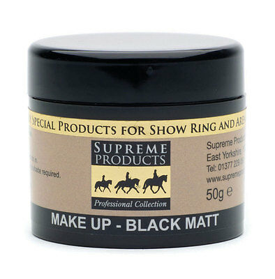 Supreme Products Make Up Black/White/Chesnut/Brown/Palomino Matt Clr 50g PR-5904