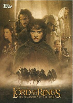 Lord Of The Rings Fellowship Of The Ring Update Complete 72 Card Base Set