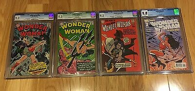 4 Wonder Woman CGC Graded Comics Movie Gal Gadot 164/171/187/1