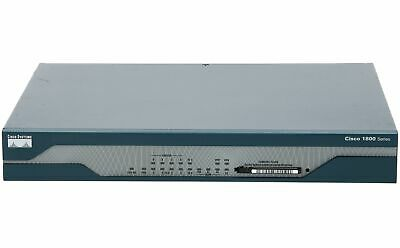 CISCO - CISCO1812/K9 - Dual Ethernet Security Router with ISDN S/T Backup