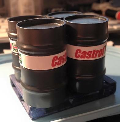 1/18 Scale 4 X 210ltr Oil Drums