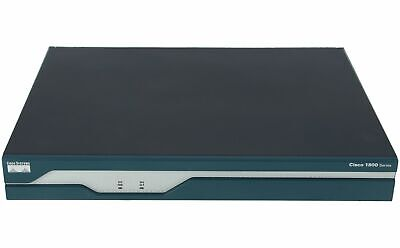 CISCO - CISCO1811/K9 - Dual Ethernet Security Router with V.92 Modem Backup