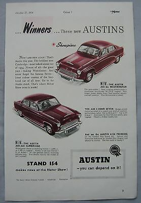 1954 Austin Original advert No.2