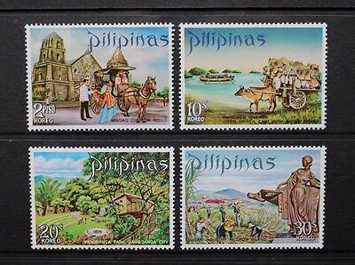 PHILIPPINES 1970 Tourism (1st series). Set of 4. Mint Never Hinged. SG1167/1170.