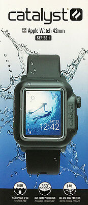 Authentic Catalyst Case Cover For Apple Watch 42mm Black - Series 1 - New Other!