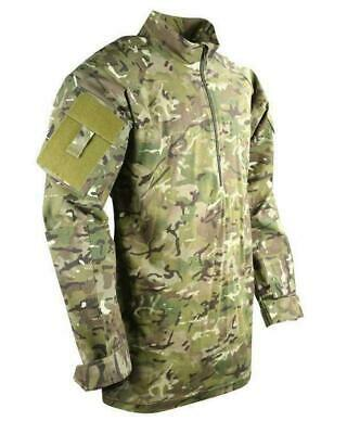 Kombat Adults Full Camo UBACS Top BTP Under Armour Style Airsoft Army