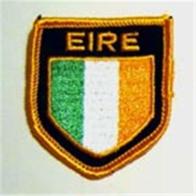 Ireland EIRE Cloth Sew On PATCH 2""
