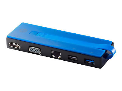 HP - X7W49AA#ABB - USB-C Travel Port Replicator - Docking Station - (USB-C)