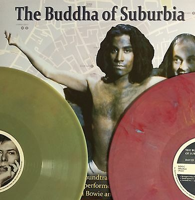 David Bowie The Buddha Of Suburbia RED & GREEN COLOURED VINYL 2 LP Set
