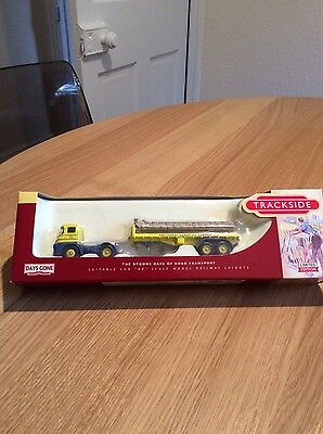 Corgi Trackside 1:76 Foden S21 Blue Circle Cement Truck Lorry Model