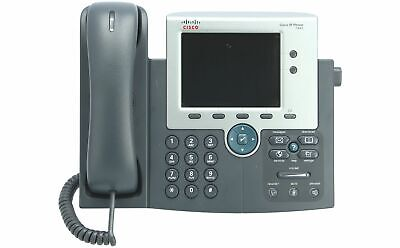 CISCO - CP-7945G= - Cisco IP Phone 7945, Gig Ethernet, Color, spare