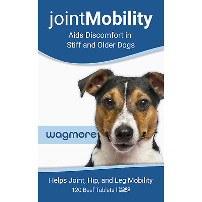 Joint Mobility Pain Relief Supplement Tablets for Dogs. Hip Dysplasia, Arthritis