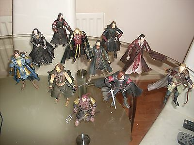 Lord of the Rings Figures x 11