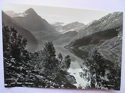 Real Photo Postcard Norway, Geiranger, 4802, In Good Condition