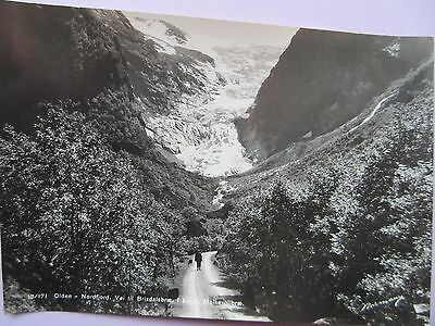 Real Photo Postcard Norway, Olden Nordfjord In Good Condition