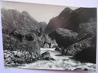 Real Photo Postcard Norway, 13-167 Olden-Nordfiord,brixdalen  In V.g.c.