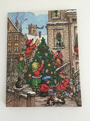 Vintage Christmas Address Book 1989 Potpourri Press Wim Schimmer