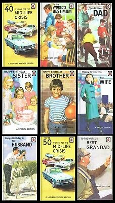 GREAT FUN - Humorous BIRTHDAY Card - From The LADYBIRD FOR GROWN-UPS COLLECTION