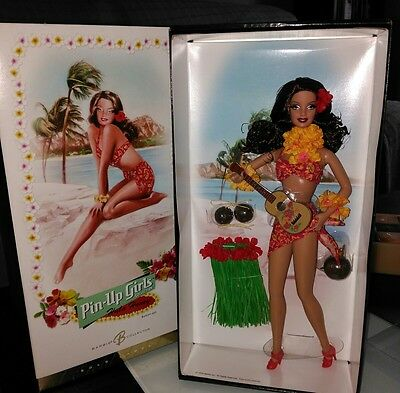 barbie pin -up girl Collection. Hula honey. Barbie doll