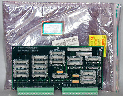 Lam Research/Ontrak DSS PN: 28-0075-013 Interface PCB Board