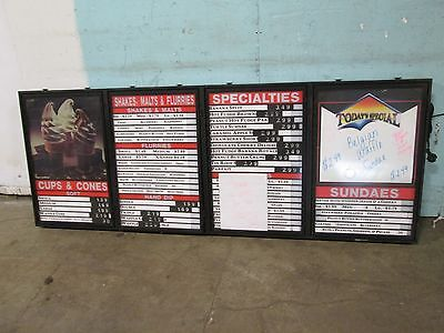 """""""MAINSTREET""""  COMMERCIAL LIGHTED WALL/CEILING MOUNT MENU BOARD w/ACRYLIC COVERS"""