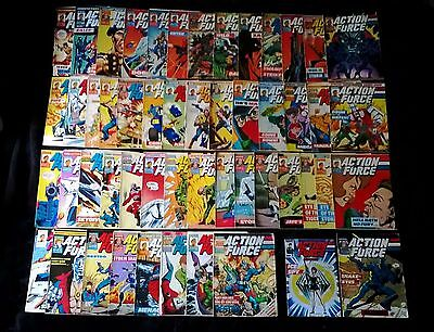 #1-50 COMPLETE COLLECTION Action Force Comics Marvel UK 1987 GI Joe Plus Extras!