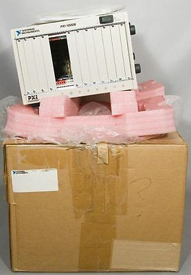 NEW National Instruments PXI-1000B 8-Slot 3U Chassis 132 MB/s PN: 184607B-01